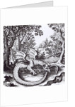 A Dragon in the Forest by Russian School
