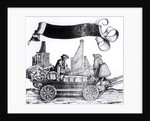 A Musical Carriage by Hans Burgkmair
