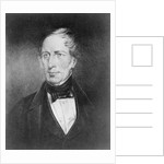 Portrait of Charles Sturt at the age of 54 by John Michael Crossland