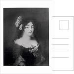 Portrait of Countess Ehrengard Melusina von der Schulenburg, Duchess of Kendal by English School