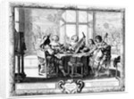 The Music Ensemble with a Lute by Abraham Bosse
