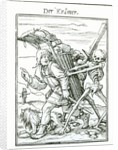 Death and the Pedlar by engraved by Hans Luutzelburger