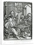 Death and the Astronomer by Hans Holbein The Younger
