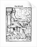 Death and the Mendicant Friar by Hans Holbein The Younger