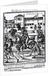 Francisco Alvarez on horseback by Spanish School