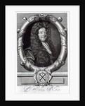 Portrait of John Blow by Robert White