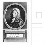 Portrait of John Blow by English School