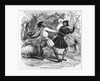 Robin Hood and the Tanner with Quarter-staffs by English School