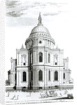 The East Prospect of St. Paul's Cathedral by English School