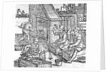 Women Blacksmiths by German School
