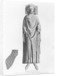 Effigy of King Henry III from his monument in the Chapel of Edward the Confessor by English School