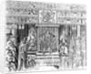 James I of England at Court by English School