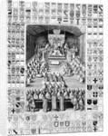 Charles I in the House of Lords by English School