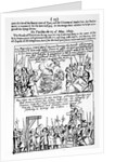 Chronicle of significant events during the English Civil War by English School