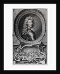 Frederick, Duke of Schomberg engraved by Jacobus Houbraken by Sir Godfrey Kneller