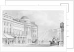 Harmonic Institution, Regent Street by Thomas Hosmer Shepherd