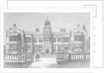 Ingestre Hall, Staffordshire, destroyed by Fire on Thursday, 12 October 1882 by Frank Watkins