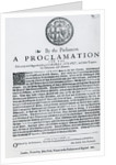 A Proclamation by the Parliament for the Discovery and Apprehending of Charles Stuart and other Traitors, Abdherents and Abettors by English School