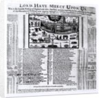'Lord Have Mercy Upon Us': The Plague in London by English School