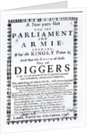 A New Year's Gift for the Parliament and Army, Showing what the Kingly Power is and the Cause of those they call Diggers by English School