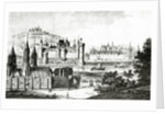 View of Saint-Germain-des-Pres and of the Pre-aux-Cleres during the reign of Charles V by French School