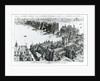 London Bridge and its Surroundings at about the year 1600 by Henry William Brewer