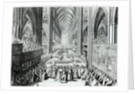 The Coronation of King James II by English School