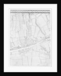 A Map of Mile End, London by John Rocque