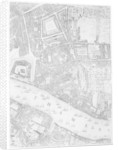 A Map of the Tower of London by John Rocque