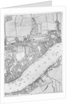 A Map of Wapping, London by John Rocque