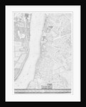 A Map of Lambeth and Vauxhall, London by John Rocque