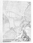 A Map of St George's Fields and Newington Butts, London by John Rocque