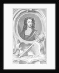 Henry Boyle, Lord Carleton engraved by Jacobus Houbraken by Sir Godfrey Kneller