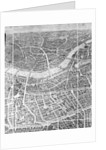 Balloon View of London by English School