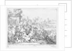 Duc de Schomberg and Doctor Walker are killed at the Battle of the Boyne by Adriaan Schoonebeek