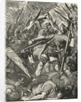 Death of Harold at the Battle of Hastings by James Cooper