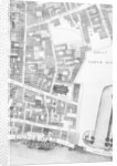 Detail of a large and accurate map of the City of London by John Ogilby