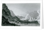 Franklin's expedition first detained by the ice by George Back