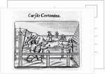 Boys' races from 'Orbis Sensualium Pictus' by John Amos Comenius