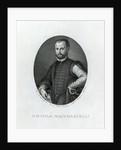 Portrait of Niccolo Machiavelli by Agnolo Bronzino