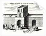 A Doorway in the Great Wall,from 'China illustrated' by Athanasius Kircher 1667 by Dutch School