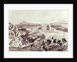 Wadela Plateau (Abyssinian Horsemen) by Sir Richard Rivington Holmes