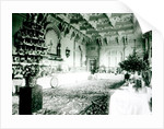 Christmas Tables in the Durbar Room at Osborne House by English Photographer