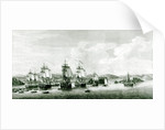 A View of the Island of St.Lucie by French School