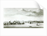 A Prospect of the Moro Castle and City of Havana from the sea by English School