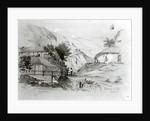 Berger's House, Valparaiso by Conrad Martens