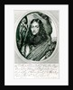 Prince Rupert of the Rhine engraved by William Faithorne by William Dobson