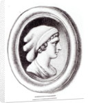 Portrait of Sappho by Thomas Worlidge