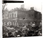 Jubilee Procession in Whitehall by English School