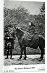 Queen Victoria on horseback at Balmoral by George Washington Wilson